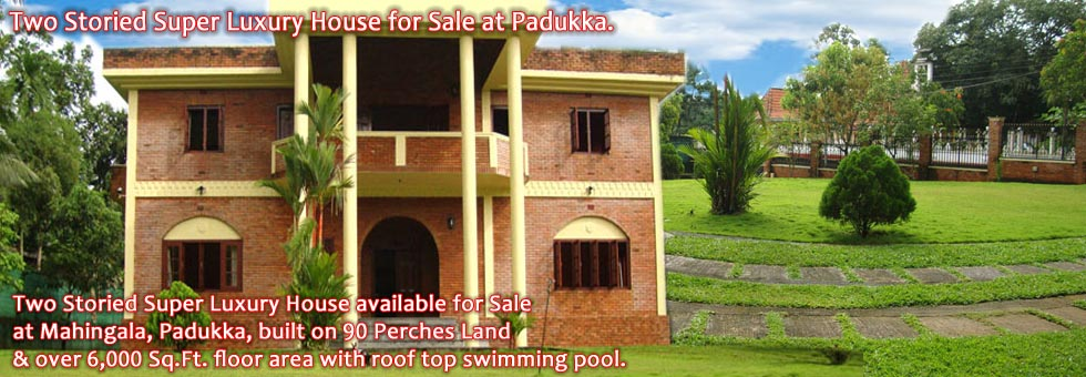 Two Storied Super Luxury House for Sale at Padukka.