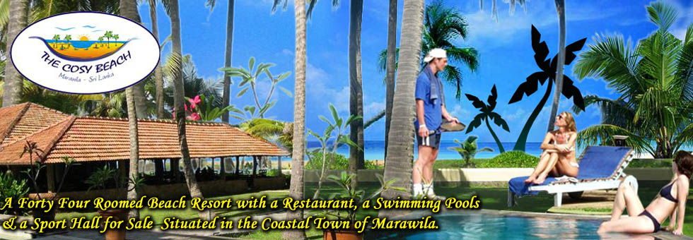 Beach Front Hotel for Sale in Marawila.