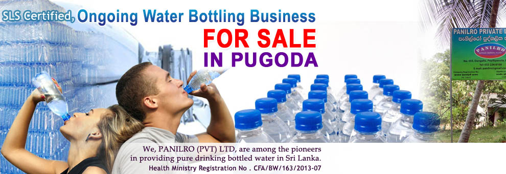 Ongoing Water Bottling Business for Sale.
