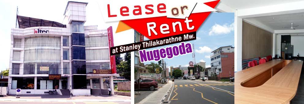 Commercial Building for Lease or Rent in Nugegoda_LK32009