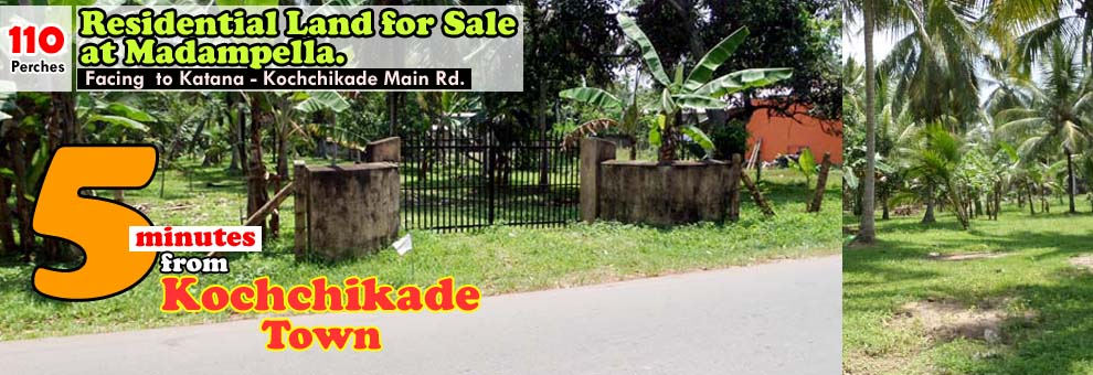 Land for Sale at Madampelala, Kochchikade_LK32062_Top Banner