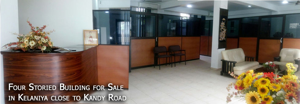 4 Storied Building for Sale in Kelaniya close to Kandy Road