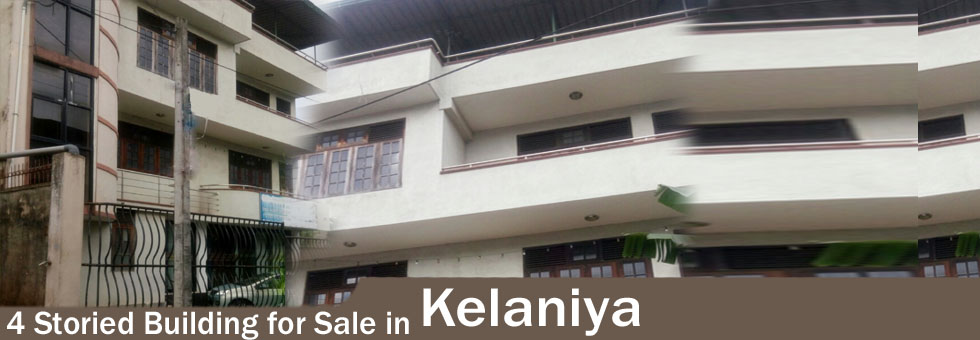 LK33463 - 4 storied building in kelaniya