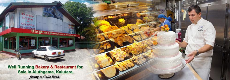 Well Running Bakery & Restaurant for Sale in Aluthgama, Kalutara.