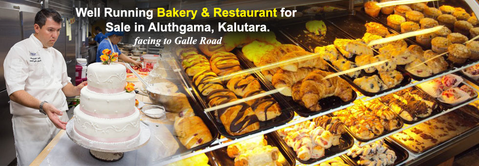 Running Singharaja Bakery & Restaurant available for Sale in Aluthgama, Kalutara. Ideal for any business, this property is excellently located on the Galle Road, a short distance from the Aluthgama town center..