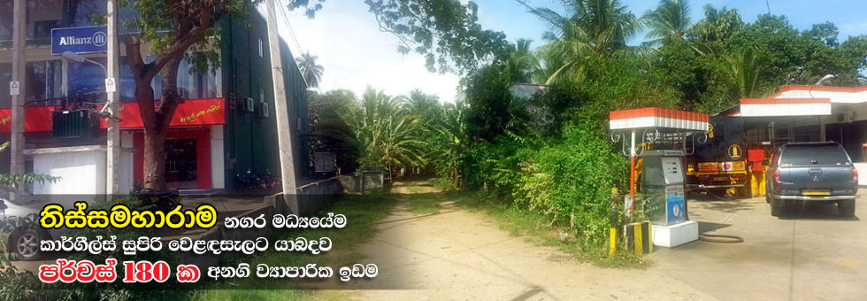 Valuable Land for Sale in Tissamaharama.