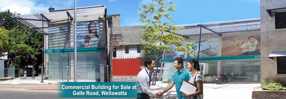 Commercial Building for Sale at Galle Road, Wellawatta.