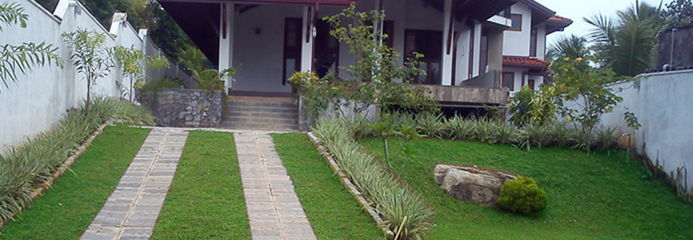 Landscaping for Garden designs sri lanka