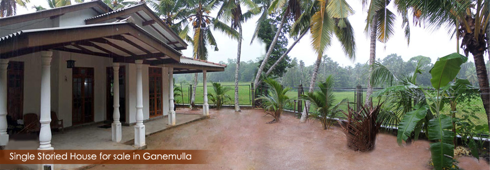 House for sale situated Ganemulla. Ideal place for peace peaceful living with good neighborhood.