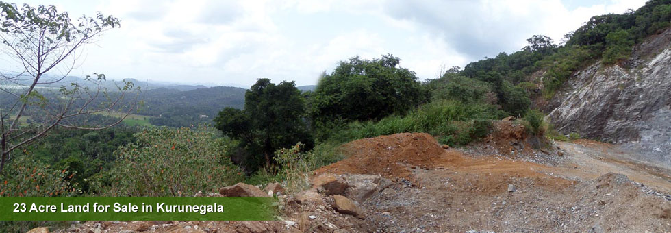 23 Acre Land for Sale in Kurunegala.