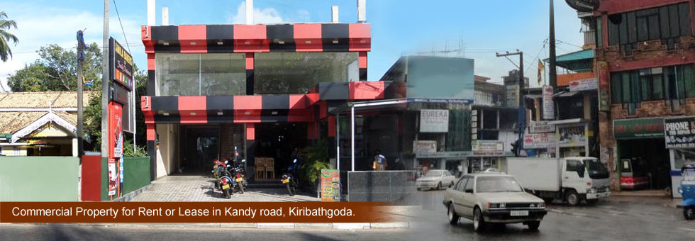 Commercial Property for Rent or Lease in Kandy road, Kiribathgoda.