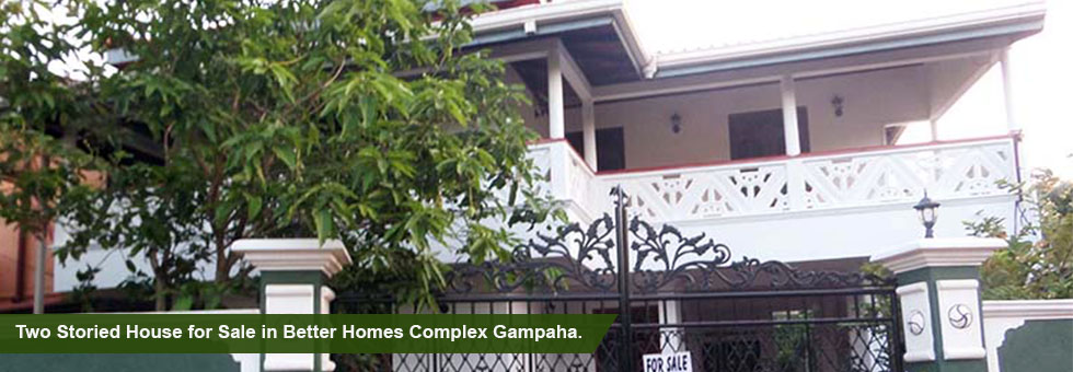 Complete House for Sale situated at Nedagamuwa, Gampaha. House approx 2,200 Sq.Ft of floor area & house built on 10.5 Perches of Land .