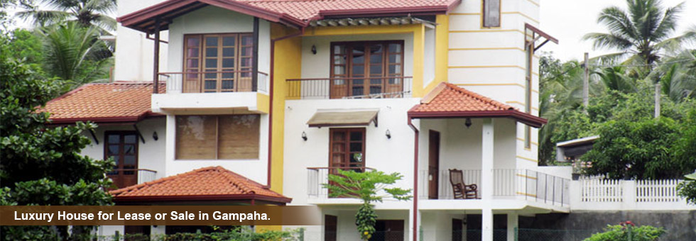 Luxury House for Lease or Sale in Gampaha.