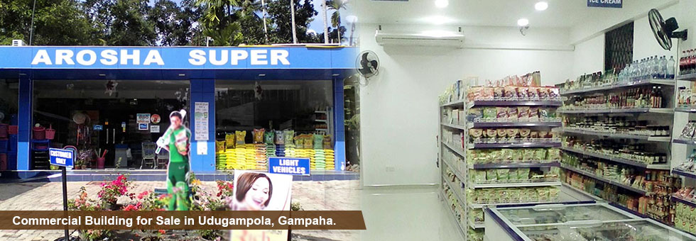 Commercial Building for Sale in Udugampola, Gampaha.