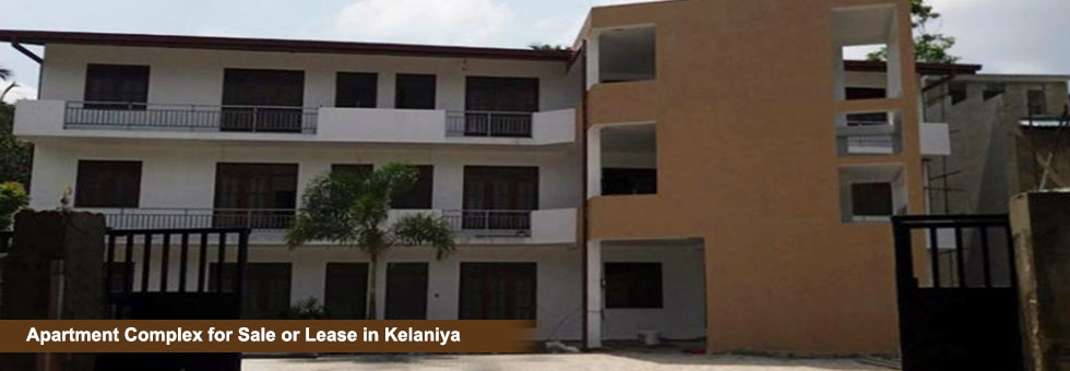 Apartment Complex for Sale or Lease in Manelwattha, Bollegala, Kelaniya. Built on 30 Perches Land consist 10 units of single & double bedroom houses. Fully Tiled A/C Apartment units with European standard bathroom and fittings, Attached bathroom with Hot Water, Balcony for upper floor Apartments,  Car park.