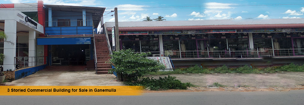A property available for sale in Highly Commercial area in Kandaliyadda Paluwa, Ganemulla, right opposite Ganemulla Commando Regiment. This property located facing  carpeted 223 Kadawatha main road and another carpeted road and boundary to Ganemulla Commando Regiment Army Camp. Easy access to Kadawatha, Ragama and Ganemulla main cities.